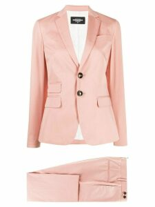Dsquared2 two-piece trouser suit - PINK