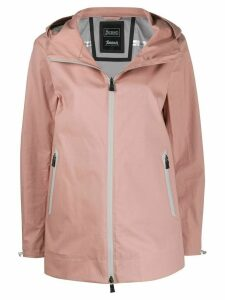 Herno hooded rain jacket - PINK