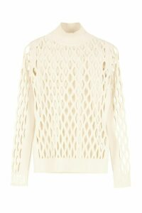 Fendi Mesh Knit Pullover