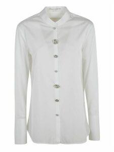 Ermanno Scervino Crystal-buttoned Shirt