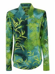 Versace Leaf Printed Shirt