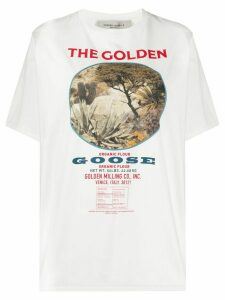 Golden Goose printed T-shirt - White