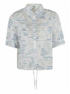 Kenzo Cropped Drawstring Shirt