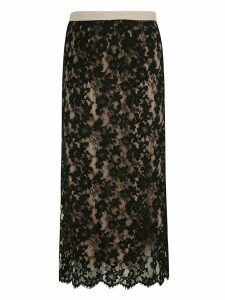 Gucci Floral Lace Skirt