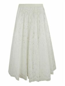 RED Valentino Lace Floral Skirt