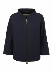 Blue Technical Fabric Jacket