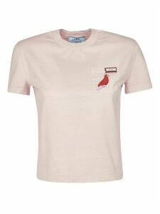 Prada Birth Embroidered T-shirt