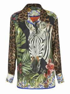 Dolce & Gabbana Animal Printed Shirt