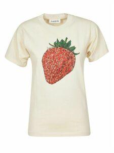 Lanvin Strawberry Printed T-shirt