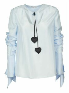 Lanvin Heart Embellished Top
