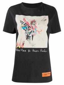 Heron Preston Robert Nava short-sleeved T-shirt - Black