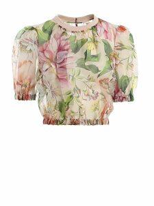 Dolce & Gabbana Shirt Flowers