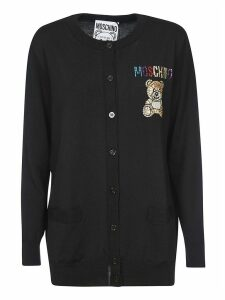 Moschino Teddy Embellished Cardigan