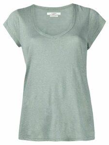 Isabel Marant Étoile scoop-neck jersey T-shirt - Green