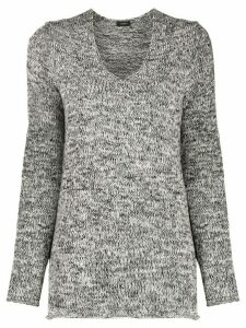 Joseph textured knit jumper - Black