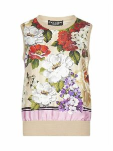 Dolce & Gabbana Bimaterial Top