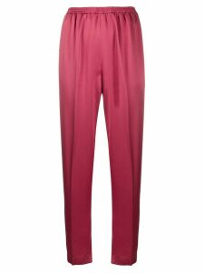 Forte Forte high-waisted cropped trousers - PINK