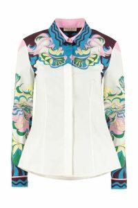 Emilio Pucci Long Sleeve Cotton Shirt