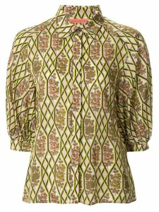Manning Cartell floral-print 3/4 sleeves blouse - Multicolour