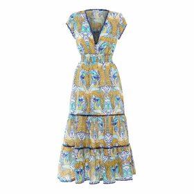 Paolita Phoenix Ruffle Midi Dress