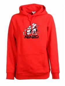 Kenzo Classic Logo Print Hoodie