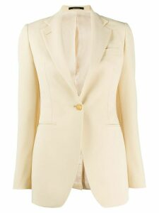 Tagliatore one-button blazer - NEUTRALS