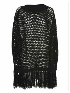 Dsquared2 Fringed Ribbed Sweater