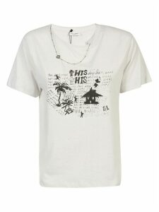 Saint Laurent Printed T-shirt