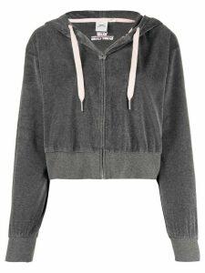 Vans cropped zipped hoodie - Grey