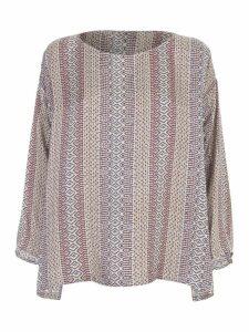 Forte Forte Mozaïk Print Viscose Silk Twill T-shirt