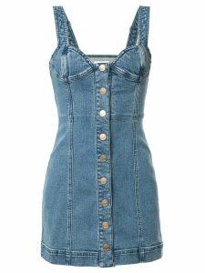 Alice McCall Mystical Moments bustier denim mini dress - Blue