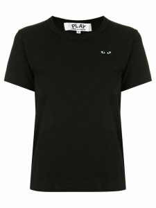 Comme Des Garçons Play heart embroidered slim fit T-shirt - Black