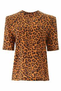 The Attico Leopard Print T-shirt