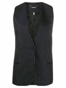 Chloé pinstriped tailored waistcoat - Blue