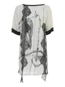 Antonio Marras Long Sweater 3/4s Hand Painted
