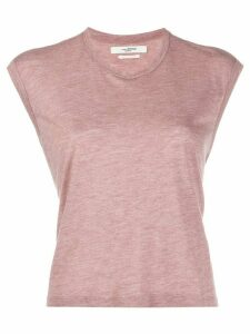 Isabel Marant Étoile cropped boxy T-shirt - Red