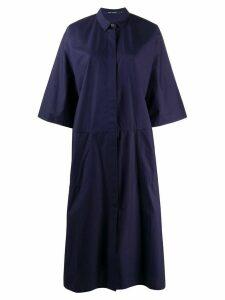 Sofie D'hoore oversized shirt dress - Blue