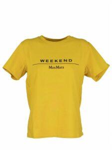 Max Mara Kabuki T-shirt With Logo Print