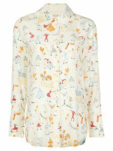 Stine Goya dancers print shirt - White
