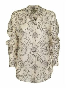 Brunello Cucinelli Silk Shirt Exotic Silk Pongee Shirt