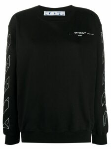 Off-White Puzzle Arrows print sweatshirt - Black