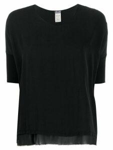 Kristensen Du Nord double-layered cotton T-shirt - Black