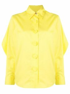 Eudon Choi puff sleeve shirt - Yellow