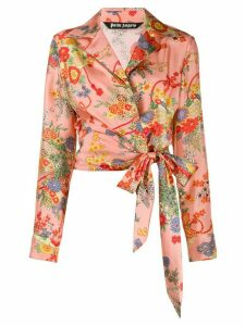 Palm Angels Blooming knot shirt - PINK