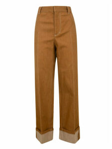 Chloé Long Straight Trousers