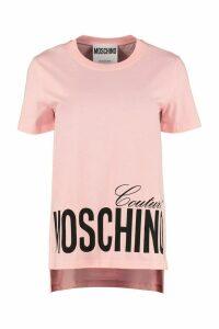Moschino Crew-neck Cotton T-shirt