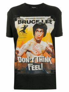 Dsquared2 Bruce Lee print T-shirt - Black
