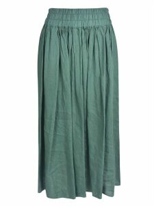 Aspesi Wide Pleated Skirt