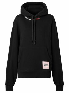 Burberry Unicorns print hoodie - Black