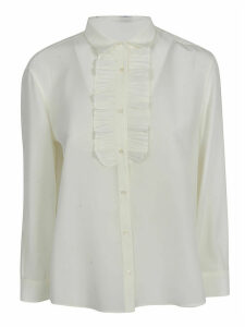 Aspesi Ruffled Bib Shirt